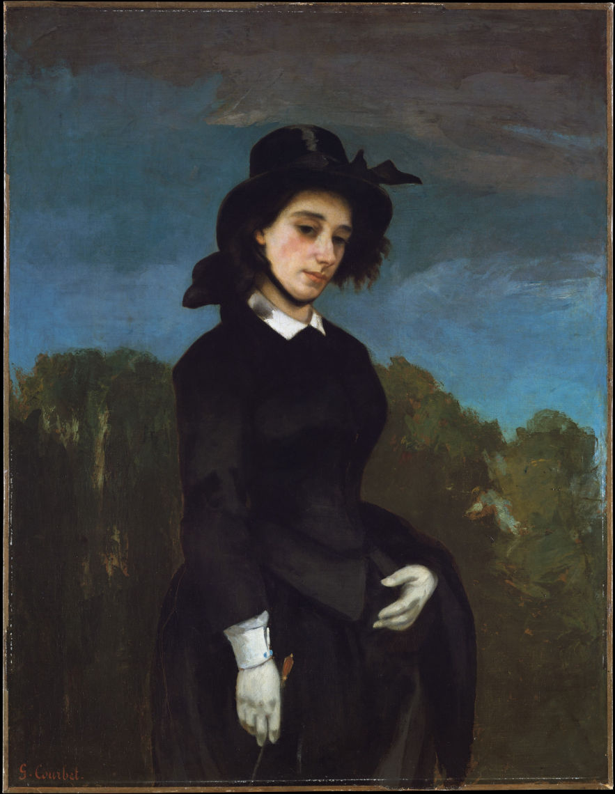 Woman in a Riding Habit