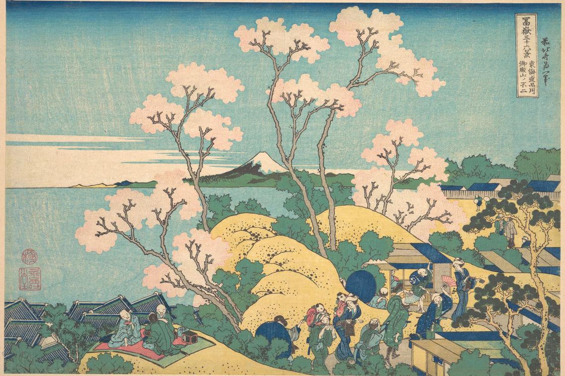 What Do Katsushika Hokusai's Prints Tell Us About 19th Century Japan?